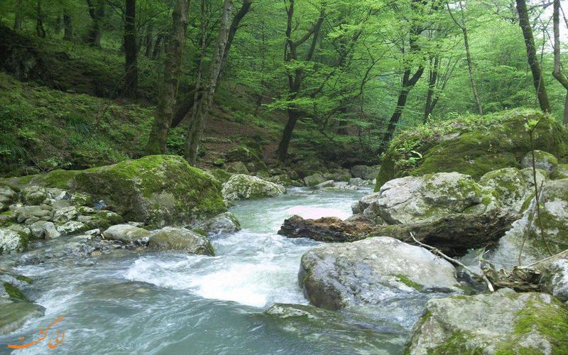 منطقه آبشارهای شیرآباد