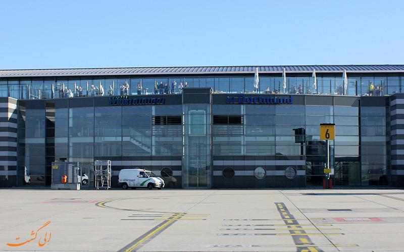 اطلاعات فرودگاه بین المللی دورتموند