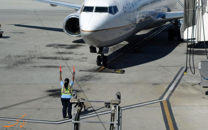 10 مرحله ای که قبل از پرواز هواپیما انجام می گیرد