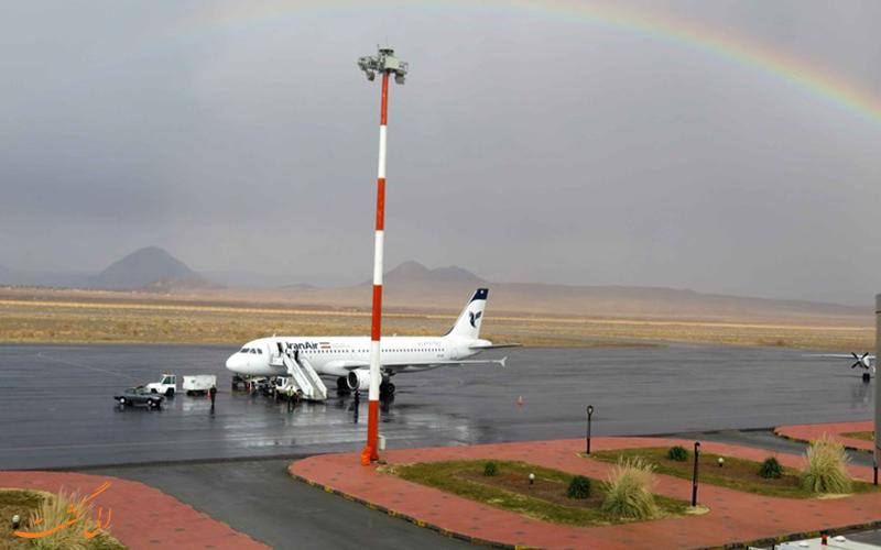 معرفی فرودگاه بین المللی بیرجند