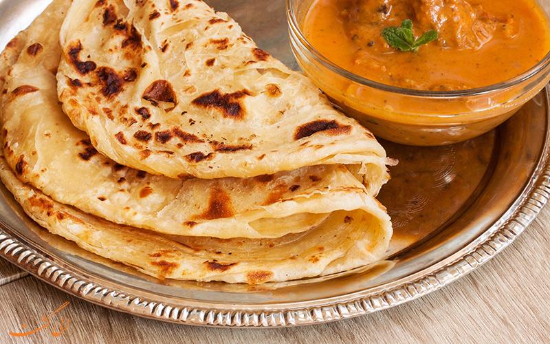 نان های خوشمزه هندی