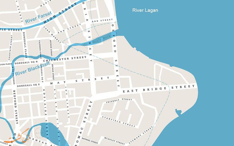 نقشه جدید شهر