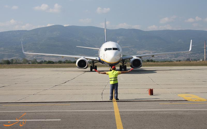 تاریخچه ی فرودگاه بین المللی پلوودیوف