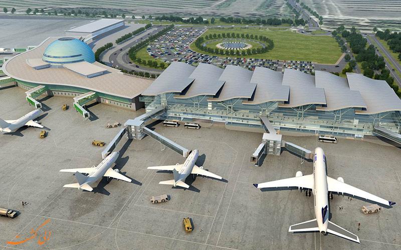 اطلاعات فرودگاه بین المللی آستانه