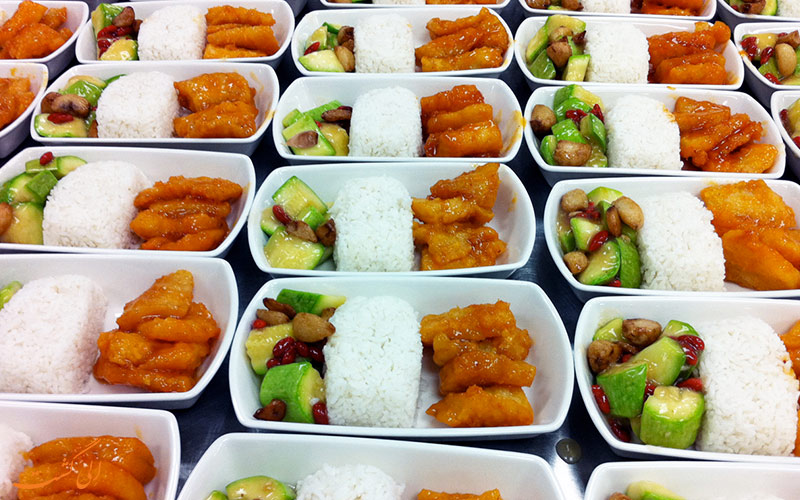 غذای بیزینس کلاس