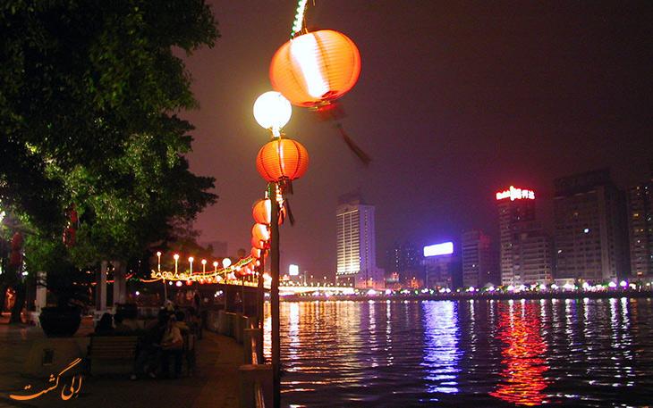 رودخانه مروارید در چین