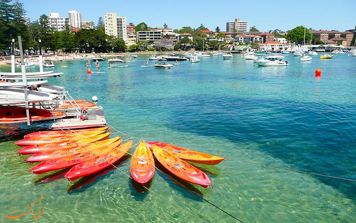 قایق سواری در سیدنی