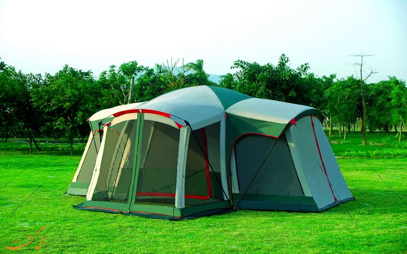 نمونه یک چادر 3 اتاقه