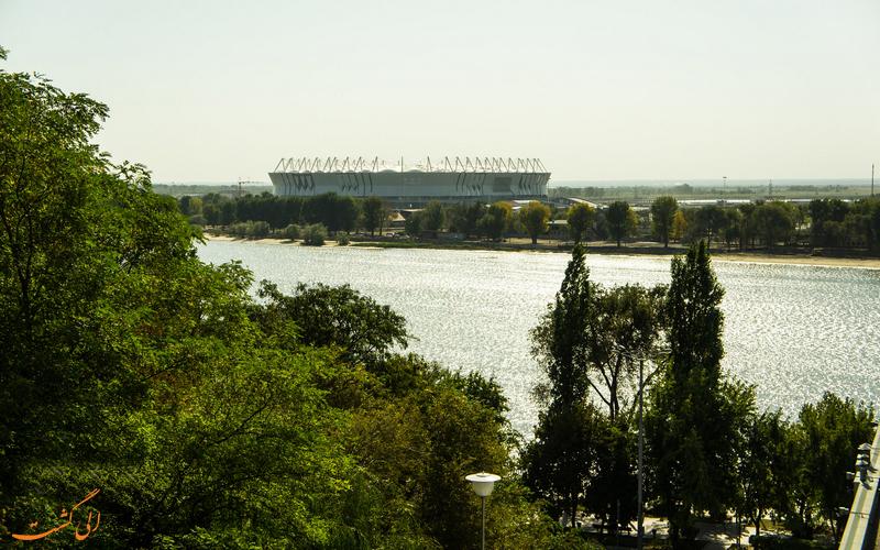 ورزشگاه زیبای روستوف آرنا