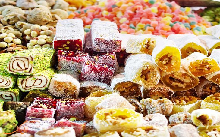 شیرینی های سنتی همدان
