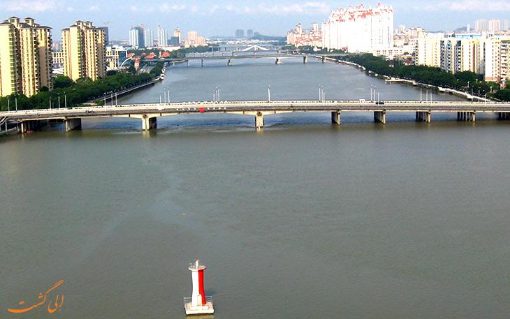 رودخانه مروارید در گوانجو
