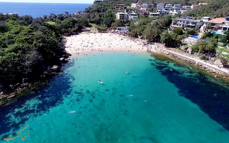 ساحل جذاب در سیدنی