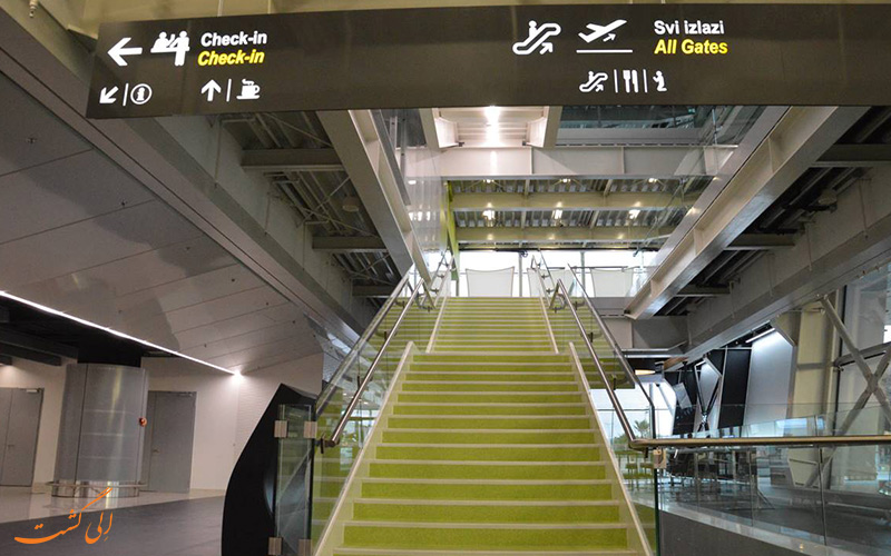 امکانات فرودگاه بین المللی دوبرونیک