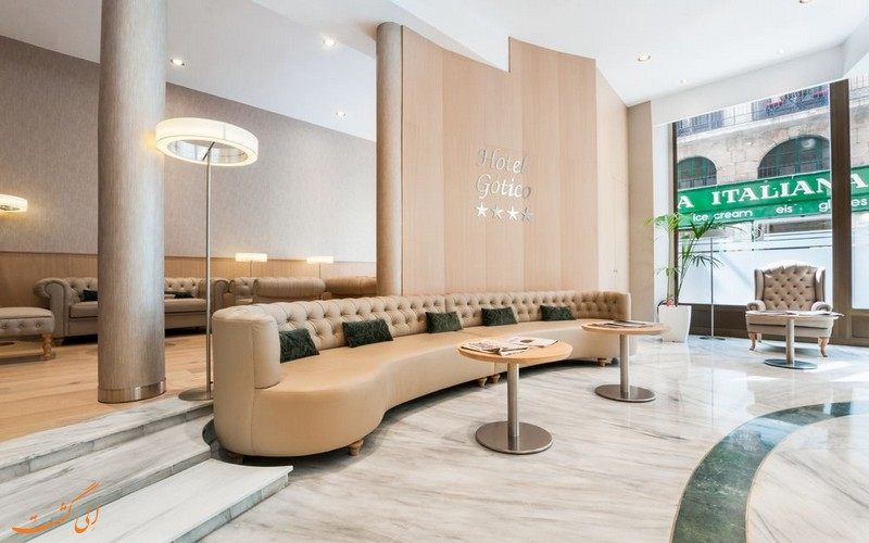 هتل گتیکو در بارسلونا