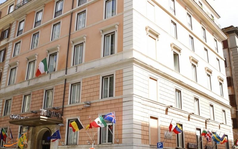 هتل تورینو رم