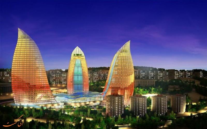 ارزان ترین شهرها برای سفرهای خارجی-باکو