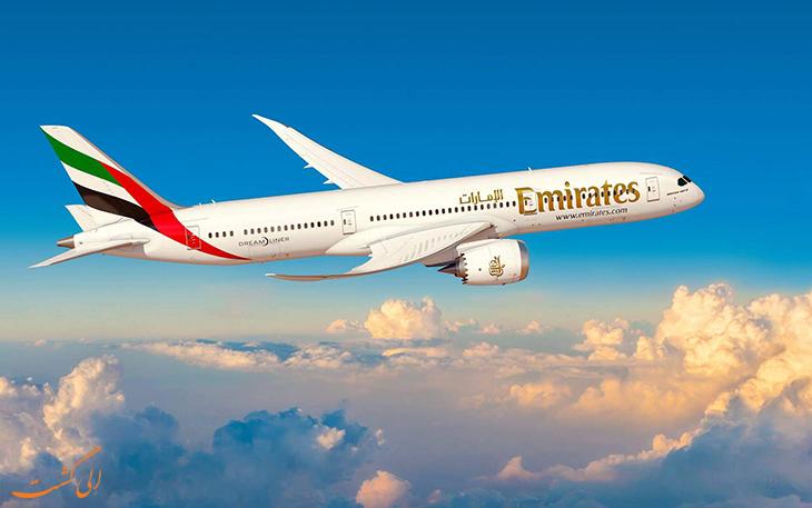 هواپیمای بدون پنجره امارات
