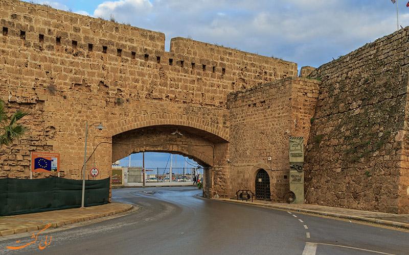 دیوارهای تاریخی شهر فاماگوستا