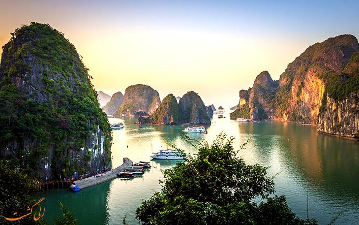 خلیج هالونگ بای در ویتنام