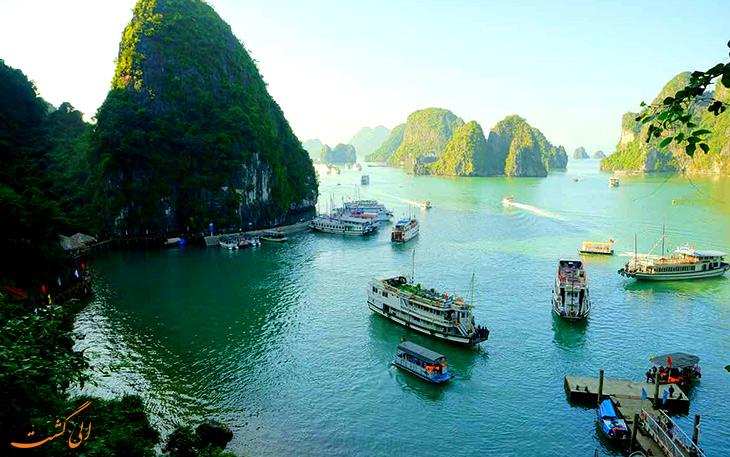 خلیج ها لونگ در ویتنام