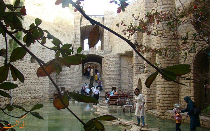 کاریز شهر زیرزمینی در کیش