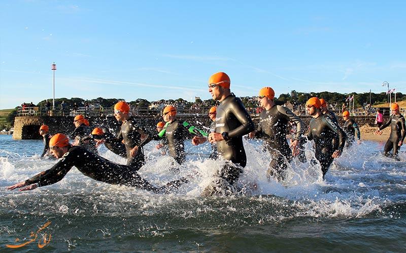 مسابقات 3 گانه ترکیبی یا تریسلون | Triathlon