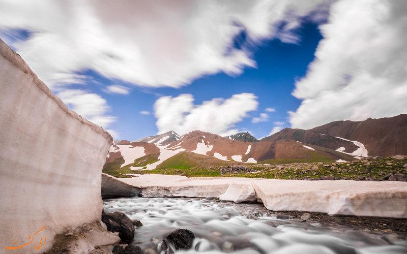 یخچال های علم کوه