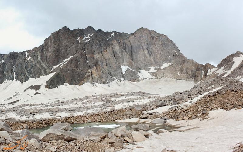 یخچال های طبیعی علم کوه