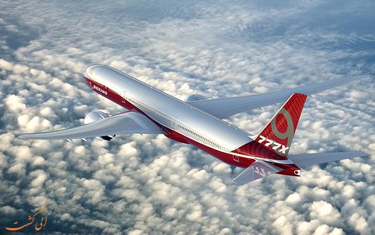 هواپیمای بوئینگ 777x