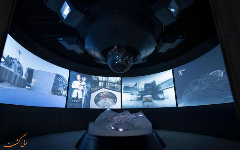 فضای داخل موزه جیمز باند