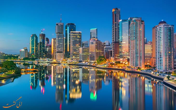 شهر بریزبن استرالیا