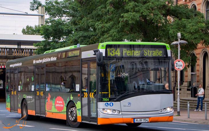 اتوبوس هانوفر