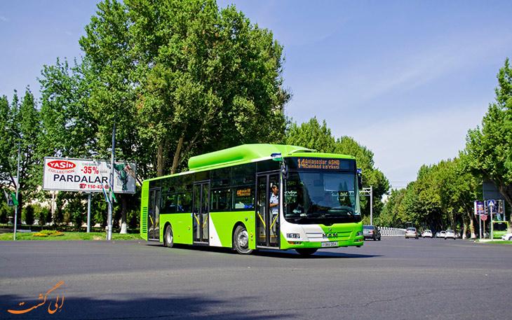 اتوبوس تاشکند