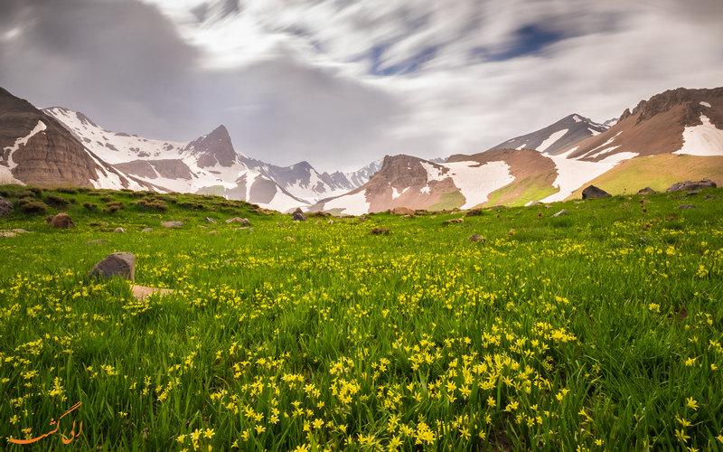 مناظر زیبای علم کوه