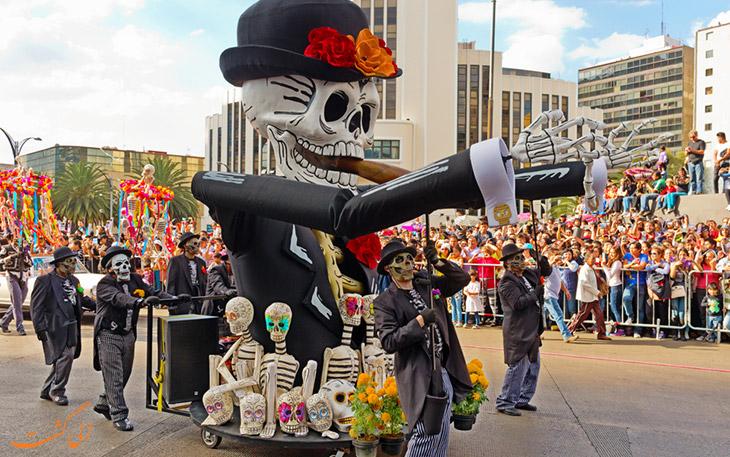 رژه جشن مردگان