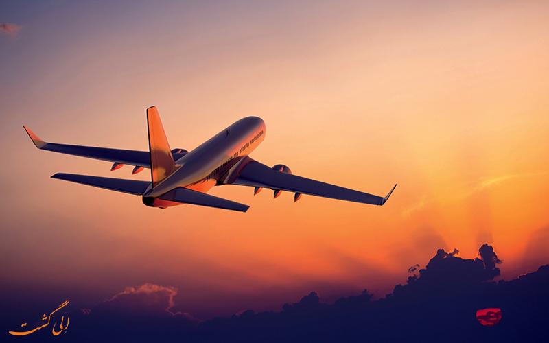 کاهش پروازهای بین المللی