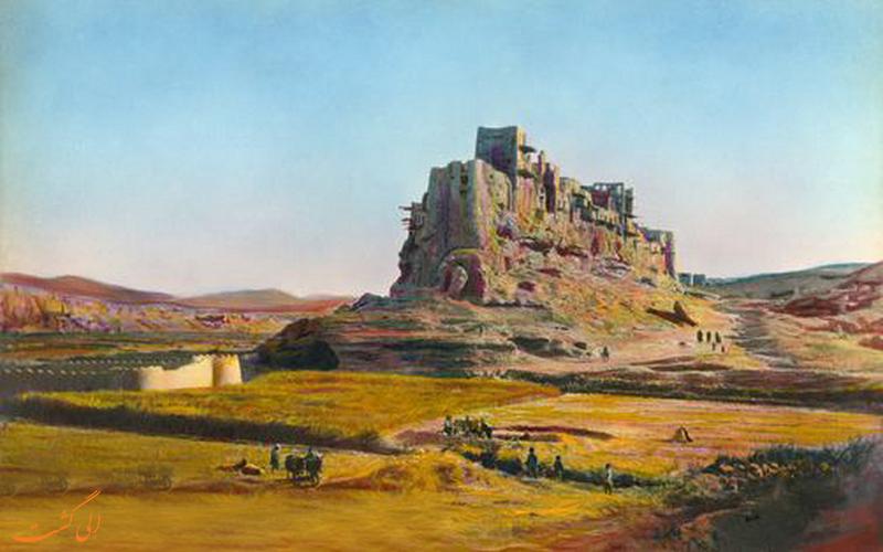 قلعه ایزدخواست - اثر هارولد وستون در دهه 1920