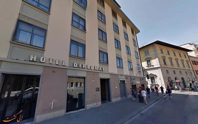 هتل 4 ستاره دیپلمات فلورانس