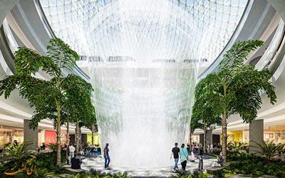پروژه جواهر فرودگاه چانگی سنگاچور