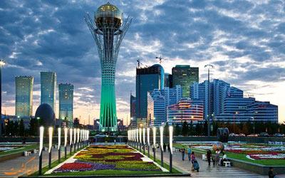 سفر به آستانه قزاقستان