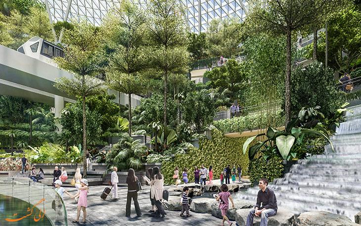 باغ های فرودگاه چانگی