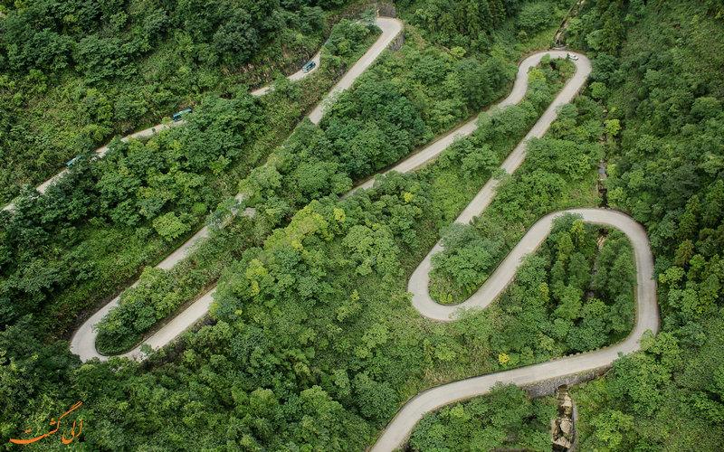 خنک ترین جاده های دنیا