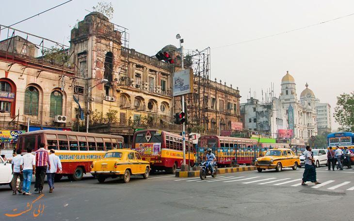حمل و نقل شهر کلکته