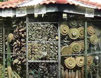موزه لندماین در کامبوج