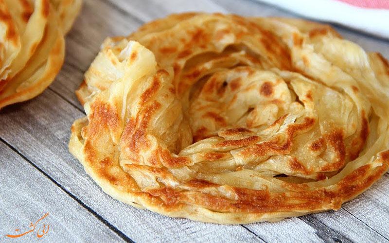 نان روتی پاراتا