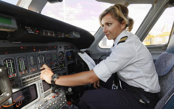 پرسش در مورد خلبانی