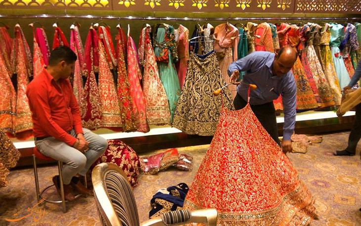 فروشگاه لباس هندی