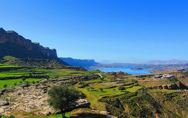 دریاچه شهیون در دزفول