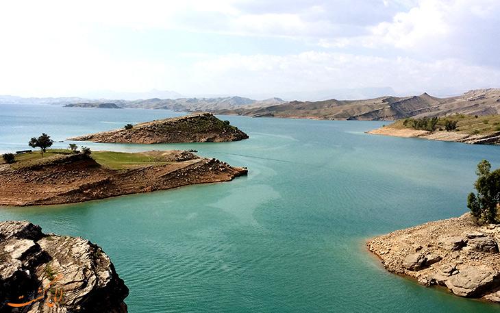 دریاچه شهیون یا همان دریاچه دز