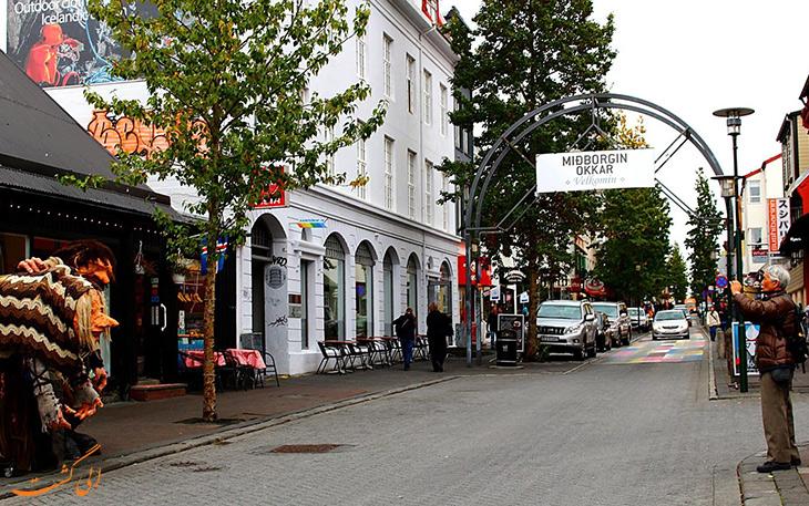 مراکز خرید ایسلند